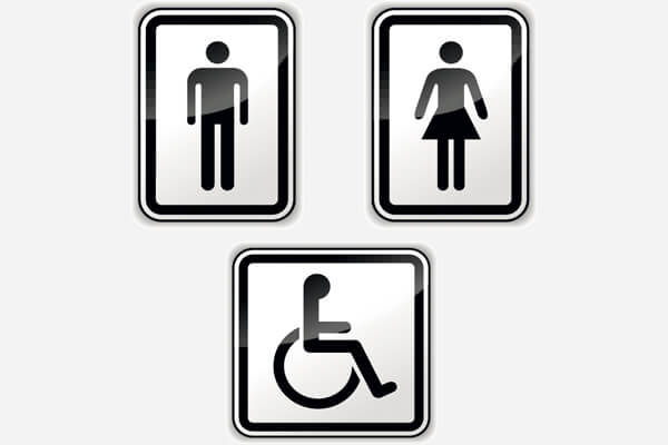 Restroom / WC Betreuung